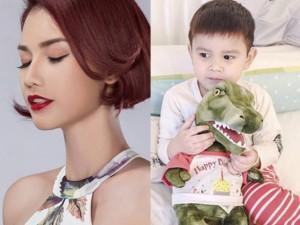 Facebook sao 5/12: Quỳnh Chi nhớ con trai da diết