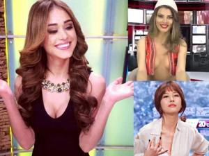 Váy - Đầm - 4 MC truyền hình nổi tiếng nhờ ăn mặc quá gợi cảm