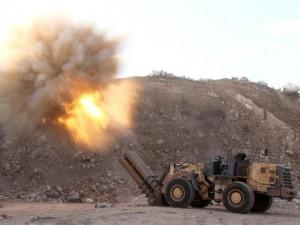 Thế giới - Vũ khí tự chế độc đáo của quân nổi dậy ở Syria