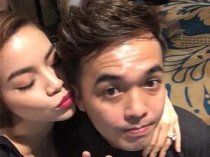 Ca nhạc - MTV - Facebook sao 7/12: Hà Hồ khoe ảnh ôm hôn trai trẻ