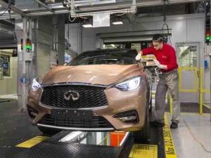 Xe xịn - Infiniti Q30 2016 chính thức đi vào sản xuất hàng loạt