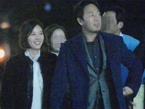 """Lộ ảnh hẹn hò của Hwang Jung Eum phim  """" She Was Pretty """""""