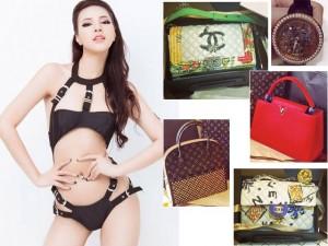 Đời sống Showbiz - Khám phá tủ đồ hiệu tiền tỉ của hot girl Hà Giang