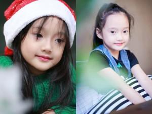 Bạn trẻ - Cuộc sống - Bé gái Hà Nội đẹp như nữ thần sắc đẹp Hoa ngữ