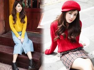 Thời trang bốn mùa - Hot girl Linh Napie gợi ý phối đồ mùa giáng sinh
