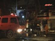 Video An ninh - HN: Cháy biệt thự cổ, hơn 20 người tháo chạy trong đêm