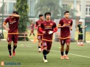 Bóng đá - U23 Việt Nam: Tuấn Anh tập riêng, Công Phượng đau tay