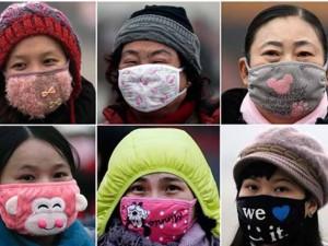 """Thế giới - TQ: """"Tranh thủ"""" ô nhiễm để diện khẩu trang sành điệu"""