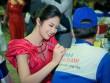 Hoa hậu Ngọc Hân 'ghi điểm' khi làm đại sứ thương hiệu