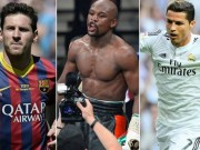 Bóng đá - Mayweather vượt Messi – CR7 trên Facebook 2015