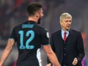 Bóng đá - Giroud lập đại công, Wenger vẫn cho rằng Arsenal may