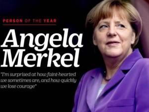 """""""Bà đầm thép"""" nước Đức được vinh danh là Nhân vật của năm"""