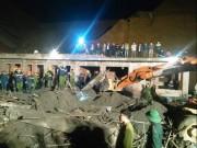 Video An ninh - Sập cây xăng ở Hà Tĩnh: 2 người chết, 6 người bị thương