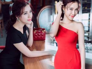 Thời trang - Á hậu Hoàng Oanh khoe khéo phụ kiện hàng hiệu