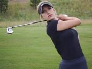 Thể thao - Được dự giải golf danh giá nhờ… quá quyến rũ