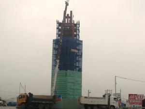 """Tin tức trong ngày - Formosa xây """"Tháp tinh thần"""" cao 32m không phép"""