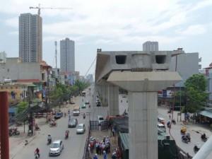 Tin tức Việt Nam - Hà Nội cấm nhiều tuyến đường để làm đường sắt trên cao