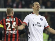 Bóng đá - Ibra sút góc hẹp lọt top 5 bàn đẹp nhất V17 Ligue 1