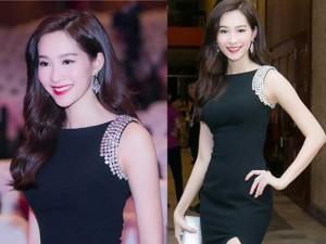 Thời trang - Hoa hậu Thu Thảo đẹp dịu dàng đi chấm thi Hoa khôi