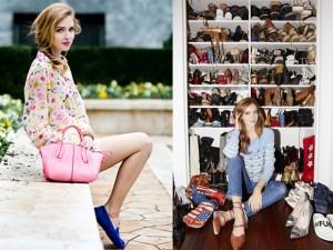 """Thời trang - Tủ đồ hàng hiệu khổng lồ của """"cô gái triệu đô"""""""