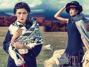 Thời trang - Kha Mỹ Vân hóa cô gái du mục xinh đẹp