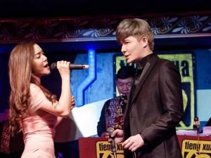 Ca nhạc - MTV - Nathan Lee tình tứ bên gái một con Ngọc Anh