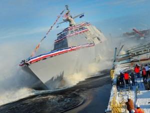 Thế giới - Chiến hạm hiện đại mới nhất của Mỹ chết máy giữa biển