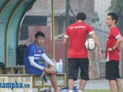 Bóng đá - Văn Thành, Xuân Mạnh tập thêm, chạy đua với Công Phượng