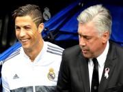 Bóng đá - Vì Ronaldo, MU sẵn sàng đón Ancelotti thay Van Gaal
