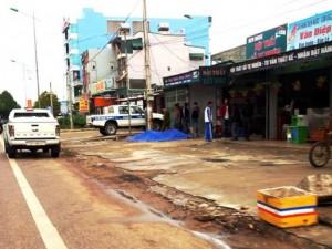 An ninh Xã hội - 2 người bị đâm chết trước cửa quán karaoke