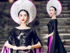 Đời sống Showbiz - Hé lộ quốc phục của đại diện Việt ở HH Liên lục địa