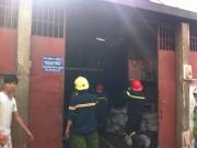 Video An ninh - TP.HCM: Cháy xưởng nhựa giữa trưa, khu dân cư náo loạn