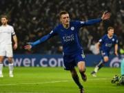 """Bóng đá - Lại tỏa sáng, Vardy """"chấp"""" cả Ronaldo và Messi"""