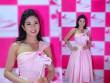 Hoa hậu Ngọc Hân xinh như tiểu thư với gam hồng nữ tính