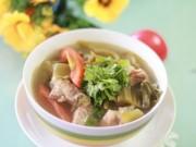 Ẩm thực - 3 món ăn ngon được chế biến từ sườn heo