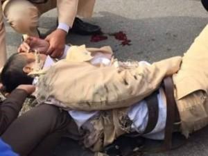 """Đội CSGT có 4 thương binh vì bị """"lao xe vào người"""""""