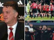 """Bóng đá - Van Gaal ở MU: Các """"sếp"""" nổi giận, cầu thủ quay lưng"""