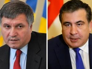 Bộ trưởng Ukraine ném cốc vào mặt cựu Tổng thống Gruzia