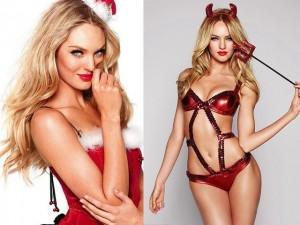 Đồ lót - đồ bơi - Thiên thần nội y khoe giọng hát... dở tệ chào Noel