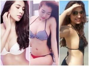 Đời sống Showbiz - 'Gái một con' Vbiz đọ nóng bỏng với bikini