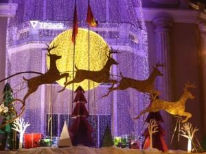 Du lịch - Ảnh: Hà Nội lung linh sắc màu đón Giáng sinh