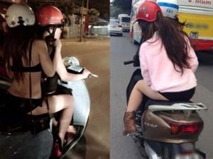 Bạn trẻ - Cuộc sống - Clip: Thiếu nữ nhận trái đắng vì thích ăn mặc hở hang