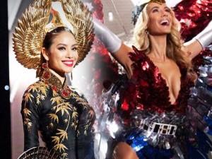 Thời trang - Phạm Hương kín đáo vẫn nổi bật bên loạt mỹ nhân sexy