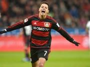 Bóng đá - Chicharito solo tuyệt đỉnh đẹp nhất V16 Bundesliga