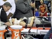 Thể thao - Gãy cổ vì xem siêu sao LeBron James chơi bóng rổ