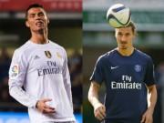 """Bóng đá Pháp - Biến """"bàn thắng thành cơ hội"""": CR7, Ibra top đầu"""