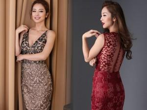 Thời trang - Jennifer Phạm khoe eo thon với đầm ôm sát gợi cảm
