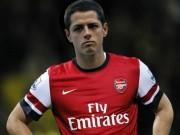 """Bóng đá - Arsenal muốn mua Chicharito để """"xát muối"""" vào MU"""