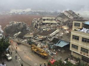 Thế giới - TQ: 22 tòa nhà đổ sập kinh hoàng vì lở đất