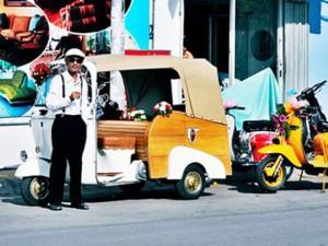 Ô tô - Xe máy - Dân chơi xế độc Sài Gòn - Bài 1: Một đời nghiện khói Vespa